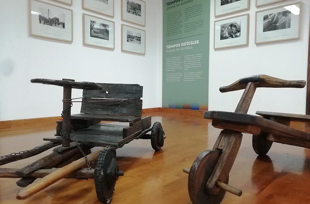 """¿A qué jugamos?, nueva exposición en el Museo Etnográfico de Grandas de Salime """"Pepe el Ferreiro"""""""